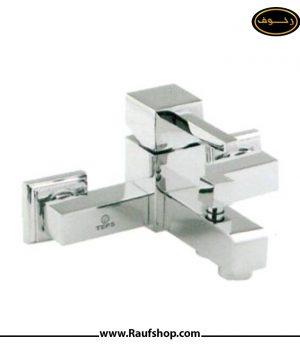 شیر حمام تپس مدل فلت دوش حمام