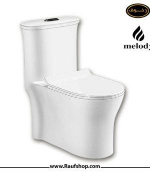قیمت توالت فرنگی ملودی مدل سوپر سایکلون 110