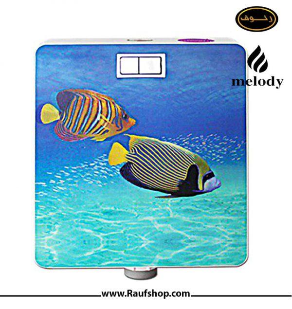 فلاش تانک ملوی مدل ماهی سه بعدی