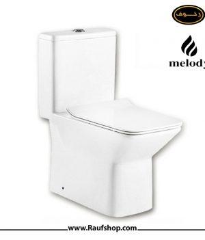 قیمت توالت فرنگی ملودی مدل 208 سوپر سایفونیک