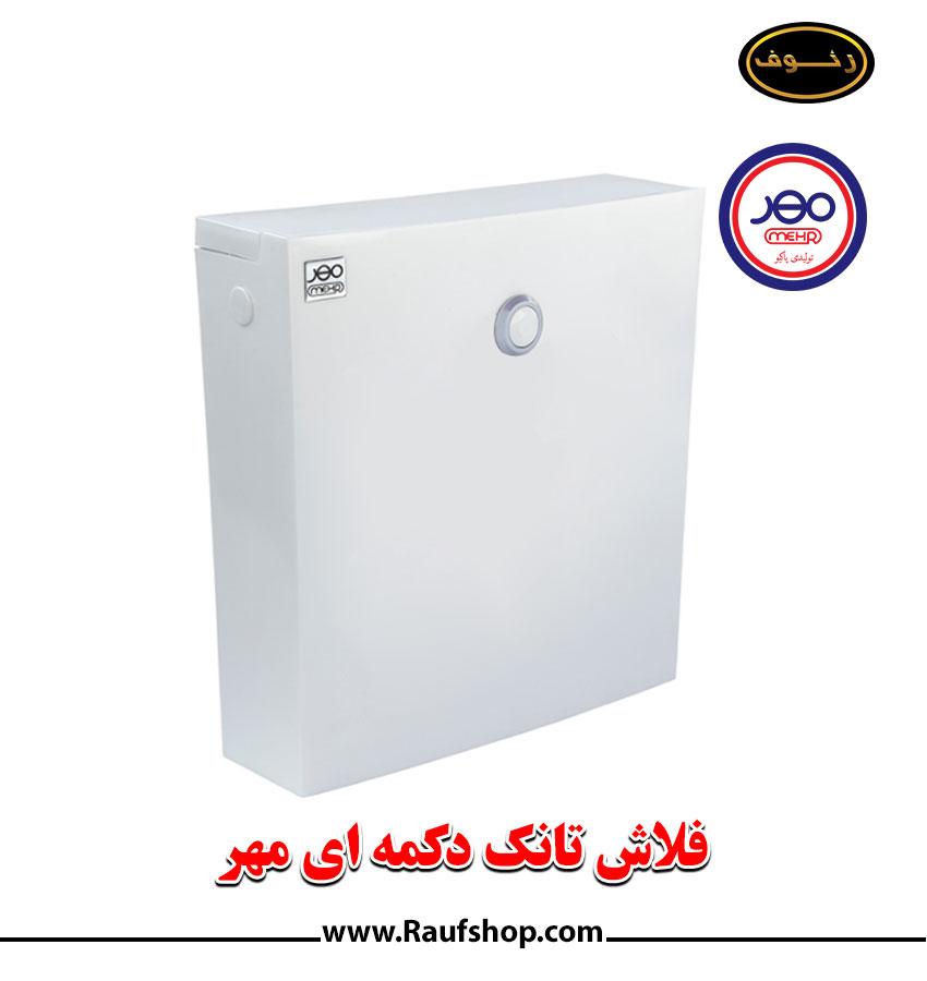 خرید فلاش تانک دکمه ای مهر از نمایندگی فروشگاه محمودی رئوف در تهران
